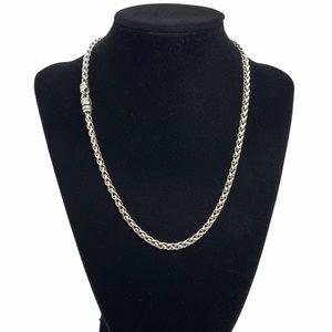 """David Yurman 4mm Wheat Chain Necklace 17.5"""""""